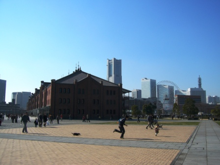 Yokohama-Red Brick Warehouse